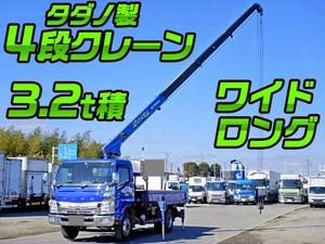 MITSUBISHI FUSO Canter Truck (With 4 Steps Of Cranes) TKG-FEB80 2013 214,000km_1