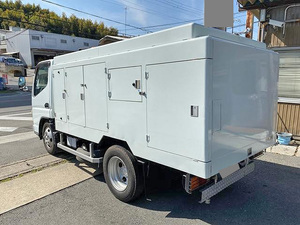 Canter High Pressure Washer Truck_2