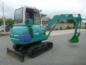 KOMATSU Mini Excavator_2