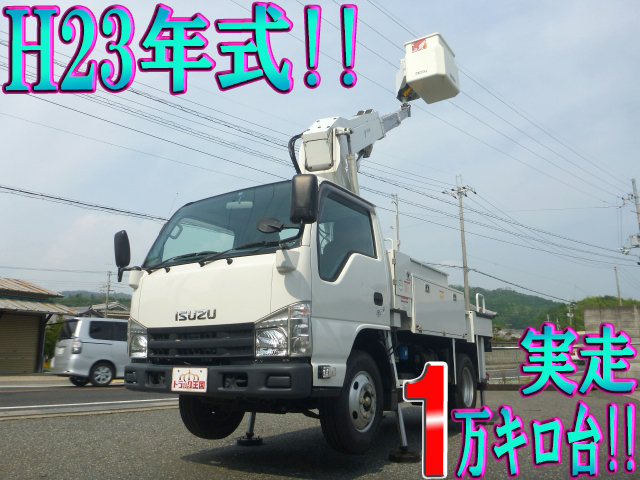 ISUZU Elf Cherry Picker BKG-NKR85AN 2011 15,590km_1