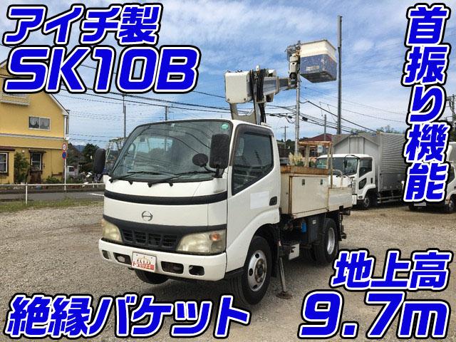HINO Dutro Cherry Picker PB-XZU301X 2006 159,606km_1