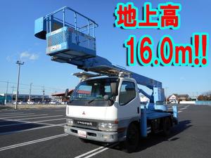 MITSUBISHI FUSO Canter Cherry Picker KK-FE63ECY (KAI) 2001 38,490km_1