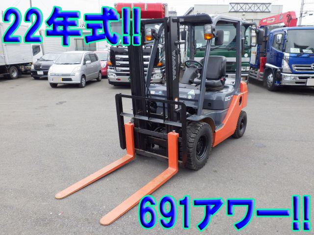 TOYOTA  Forklift 8FGL20 2010 691h_1