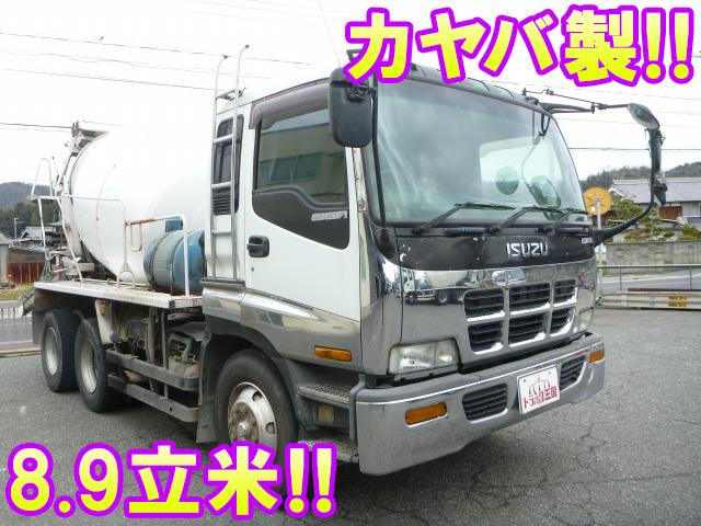 ISUZU Giga Mixer Truck KC-CXZ81K2 1997 710,176km_1