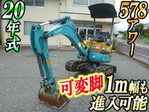 KUBOTA  Mini Excavator U-15-3S 2008 578h_1