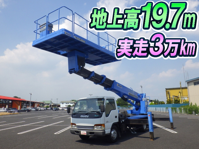 Japanese used isuzuelf cherry picker kk npr72pv 2001 for sale isuzu elf cherry picker kk npr72pv 2001 30954km1 sciox Gallery