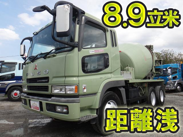 MITSUBISHI FUSO Super Great Mixer Truck KL-FV50JJXD 2002 197,110km_1