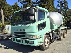 MITSUBISHI FUSO Super Great Mixer Truck KC-FV519JXD 1997 350,000km_1