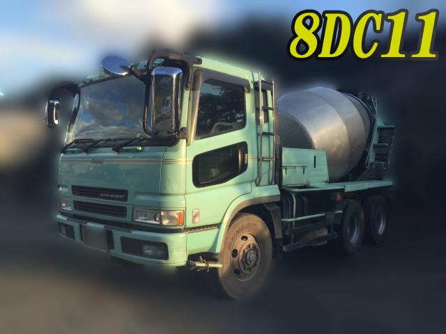 MITSUBISHI FUSO Super Great Mixer Truck KC-FV519JXD 1997 407,206km_1