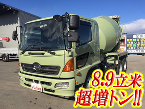 HINO Ranger Mixer Truck KL-GK1JLEA (KAI) 2004 145,634km_1