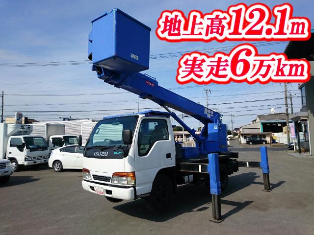 ISUZU Elf Cherry Picker KC-NKR66E2N 1999 60,789km_1