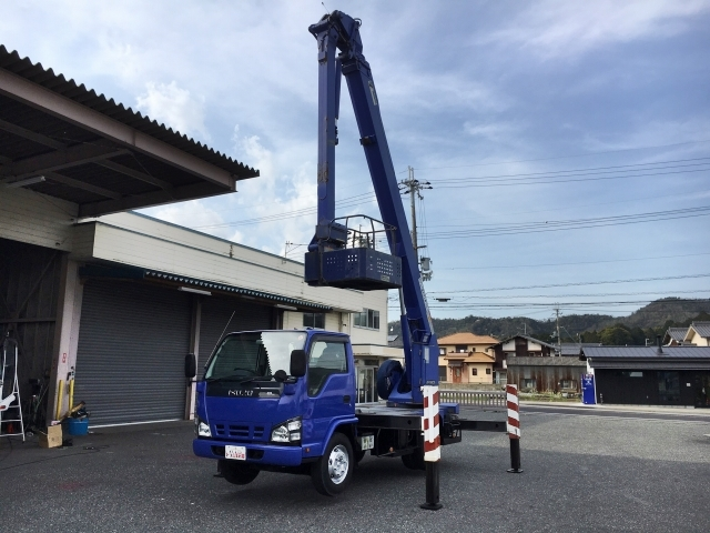 Japanese used isuzuelf cherry picker pb nkr81n 2007 for sale isuzu elf cherry picker pb nkr81n 2007 12118km1 sciox Gallery