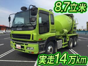ISUZU Giga Mixer Truck PJ-CXZ77K6 2005 147,389km_1