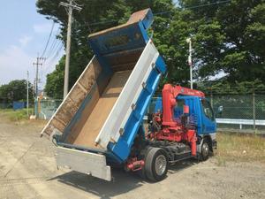 Canter Dump (With Crane)_2