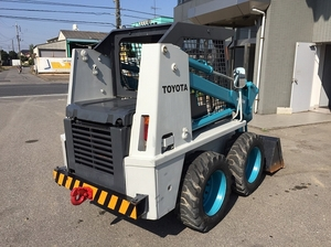 TOYOTA Skid Steer Loader_2