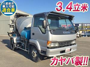 ISUZU Forward Juston Mixer Truck KK-NRR35C4 2003 118,885km_1