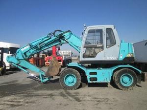 KOBELCO Wheel Excavator_1