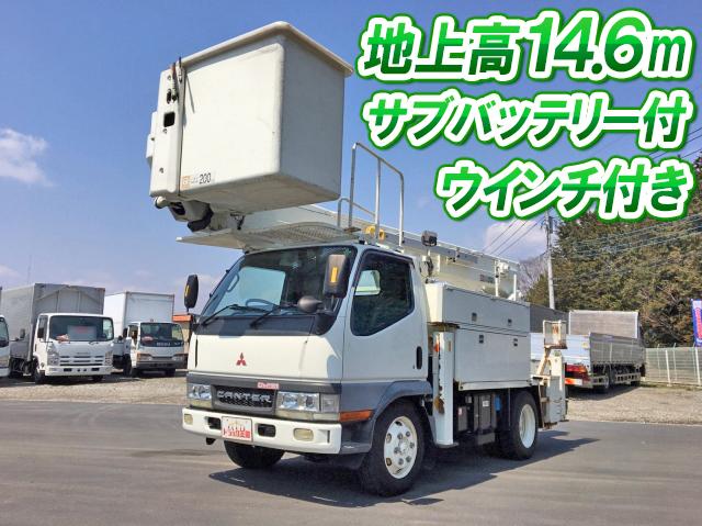 MITSUBISHI FUSO Canter Cherry Picker KK-FE53EBX 2001 91,310km_1