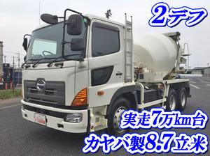 HINO Profia Mixer Truck QKG-FS1AKAA 2013 71,260km_1