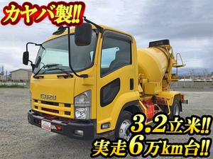 ISUZU Forward Mixer Truck PKG-FRR90S1 2010 63,203km_1