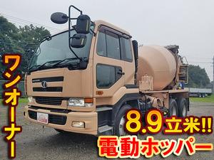 UD TRUCKS Big Thumb Mixer Truck KL-CW48A 2004 266,076km_1