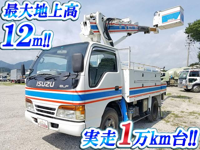 ISUZU Elf Cherry Picker KC-NKR66E2N 1996 19,098km_1
