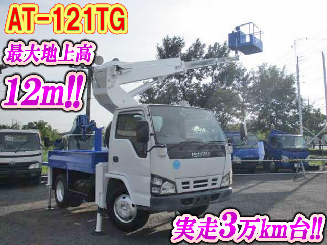ISUZU Elf Cherry Picker PB-NKR81N 2005 32,392km_1