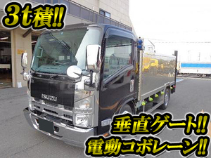 ISUZU Elf Flat Body (With Power Gate) BDG-NMR85N 2007 97,000km_1