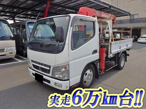 MITSUBISHI FUSO Canter Truck (With 3 Steps Of Unic Cranes) PA-FE70DB 2007 65,000km_1
