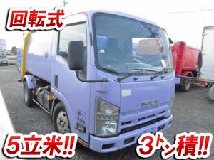 ISUZU Elf Garbage Truck BDG-NMR85AN 2009 106,000km_1
