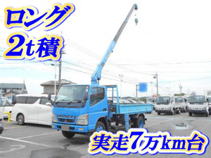 MITSUBISHI FUSO Canter Truck (With 3 Steps Of Unic Cranes) KK-FE73EEN 2004 70,000km_1
