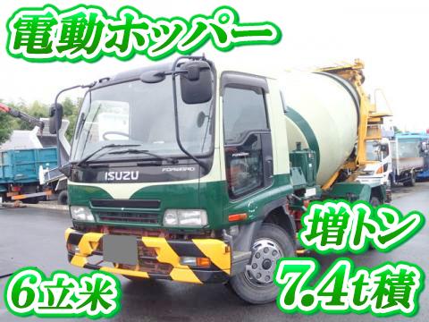 ISUZU Forward Mixer Truck PJ-FSR34D4S 2006 216,000km_1