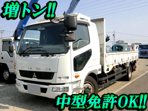 MITSUBISHI FUSO Fighter Flat Body TKG-FK62FY 2012 213,000km_1