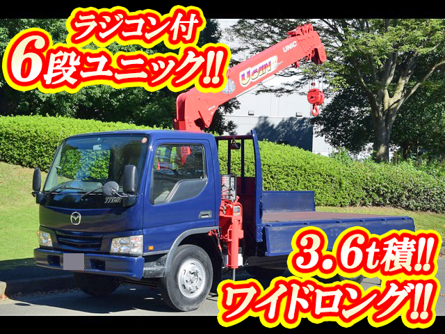 MAZDA Titan Truck (With 6 Steps Of Unic Cranes) KK-WH63H 2002 54,978km_1