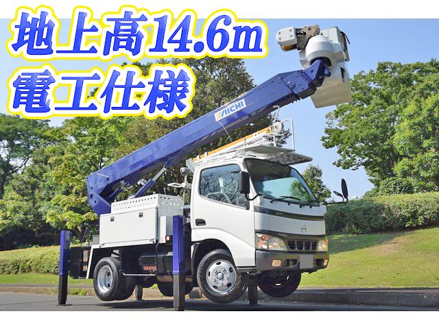 HINO Dutro Cherry Picker LD-BZU300M 2005 53,641km_1