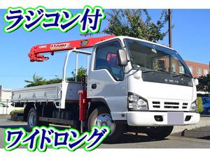ISUZU Elf Truck (With 3 Steps Of Unic Cranes) PB-NPR81AR 2006 142,183km_1
