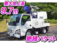 ISUZU Elf Cherry Picker PB-NKR81AN 2006 201,348km_1