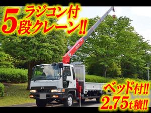 HINO Ranger Truck (With 5 Steps Of Cranes) KK-FD1JLDA 2001 149,998km_1