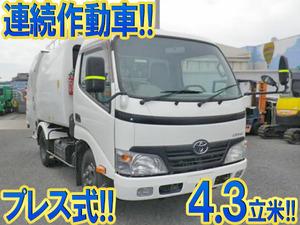 TOYOTA Dyna Garbage Truck BDG-XZU304A 2009 105,000km_1