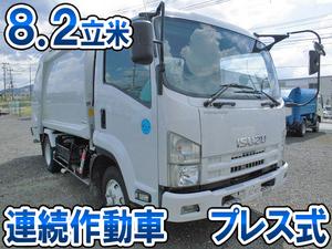 ISUZU Forward Garbage Truck PKG-FRR90S2 2009 344,723km_1