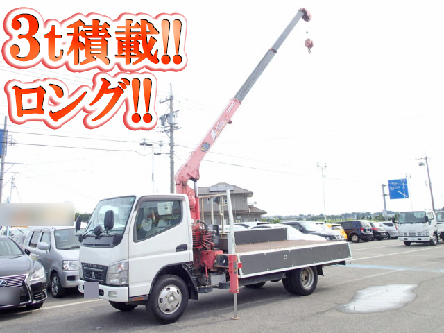 MITSUBISHI FUSO Canter Truck (With 3 Steps Of Unic Cranes) PDG-FE73DN 2009 139,000km_1