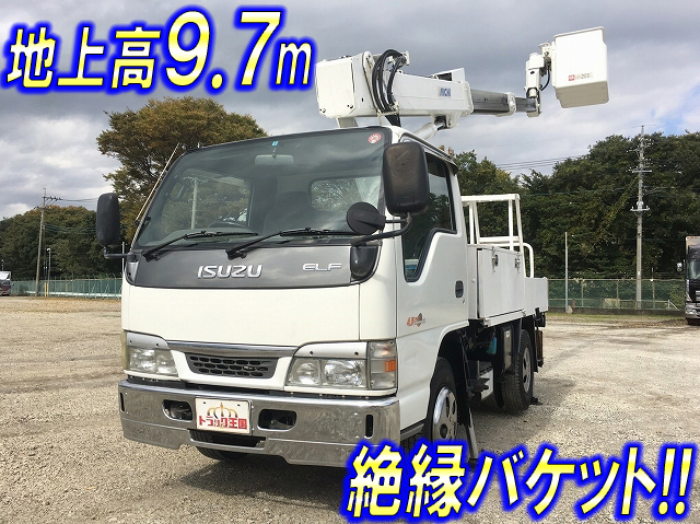 ISUZU Elf Cherry Picker KR-NKR81EP 2004 83,237km_1