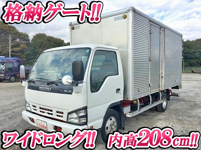 ISUZU Elf Aluminum Van PB-NPR81AN 2005 246,206km_1