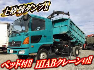 HINO Ranger Hiab Dump KK-FD1JGEA 2003 114,124km_1