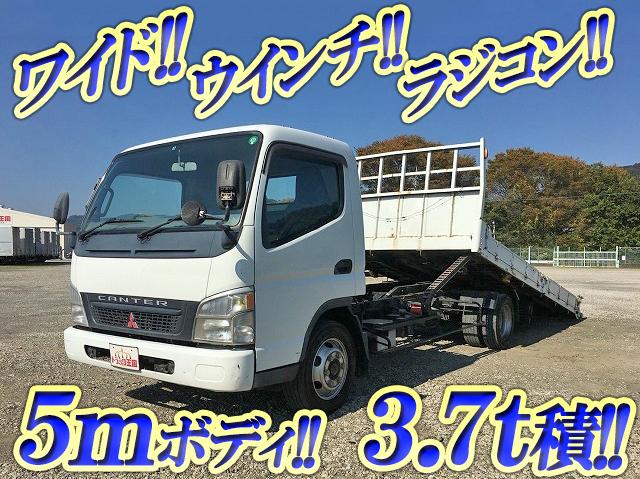 MITSUBISHI FUSO Canter Safety Loader PA-FE83DGY 2004 214,684km_1