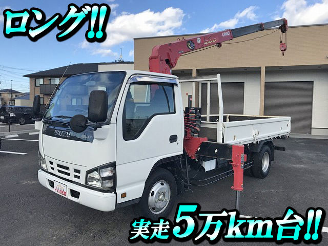 ISUZU Elf Truck (With 3 Steps Of Unic Cranes) PB-NKR81AN 2005 51,088km_1