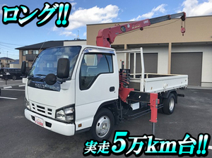 ISUZU Elf Truck (With 3 Steps Of Unic Cranes) PB-NKR81AN 2005 51,088km_1