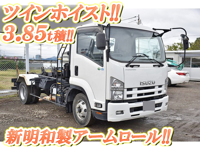 ISUZU Forward Arm Roll Truck TKG-FRR90S2 2013 34,219km_1