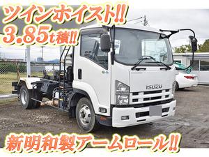 ISUZU Forward Arm Roll Truck TKG-FRR90S2 2013 34,219km_1