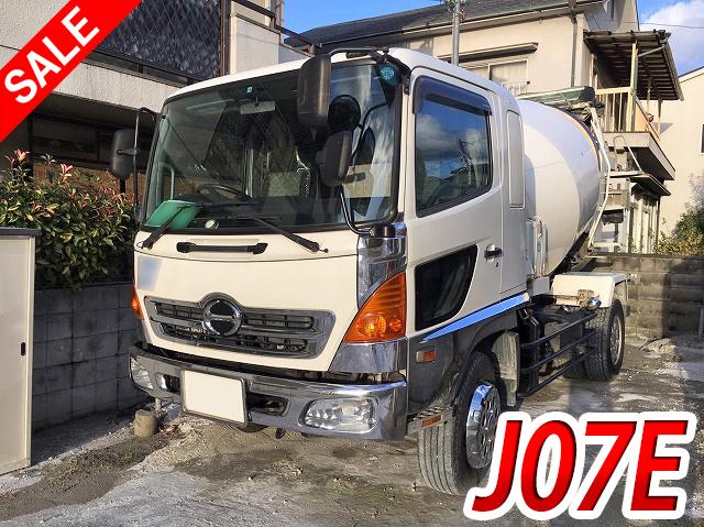 HINO Ranger Mixer Truck ADG-FE7JEWA 2005 212,948km_1